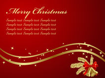 Christmas Background. Elegant Christmas Background. Vector illustration Royalty Free Stock Photos