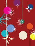 Christmas background. Vector illustration for design Stock Photo