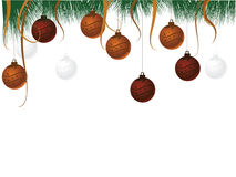 Christmas background. For designs, seasons, winter, holidays and others Royalty Free Stock Photo