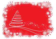 Christmas Background. Vector christmas background, easy to edit Stock Photo