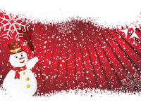 Christmas background. Beautiful vector Christmas (New Year) background for design use Stock Images