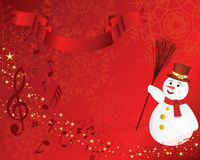 Christmas background. Beautiful vector Christmas (New Year) background for design use Stock Photos