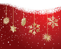 Christmas background. Beautiful vector Christmas (New Year) background for design use stock illustration