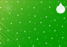 Christmas background. With christmas decoration, snowflake and stars Royalty Free Stock Photography