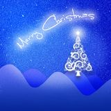 Christmas background. A computer generated christmas background Royalty Free Stock Image