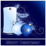 Christmas background. Vector illustration. Christmas holiday background Royalty Free Stock Image