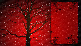 Christmas background. With snow flakes Royalty Free Stock Photos