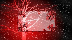 Christmas background. With snowy landscape Royalty Free Stock Photos
