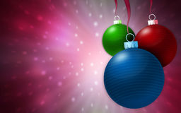 Christmas background Stock Images