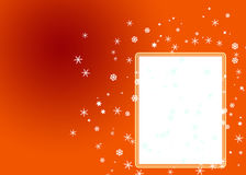 Christmas background. Card for congratulation with snowflakes Stock Photo