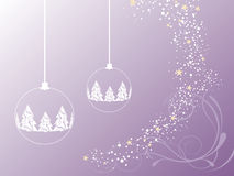 Christmas background. Vector illustration of christmasy elements Royalty Free Stock Image