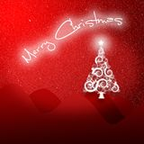 Christmas background. A computer generated christmas background Royalty Free Stock Photo