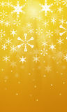 Christmas background. A abstract back ground image of christmas stars, and snowflakes Stock Photo