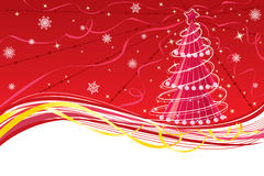Christmas background. (frame). Vector illustration royalty free illustration