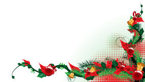 Christmas background. Place your christms greeting here Royalty Free Stock Photography