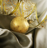 Christmas Background. Beautiful Christmas Decoration. With copy-space stock photography
