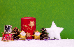 Christmas background. Cute christmas background with space for text Stock Photos