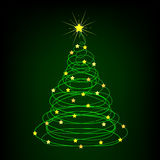 Christmas background. Abstract New Year's background for the designer Stock Photo