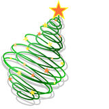 Christmas background. Abstract New Year's background for the designer Stock Images