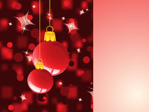 Christmas background. For your greeting text Stock Photo