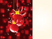 Christmas background. For greeting text Royalty Free Stock Image