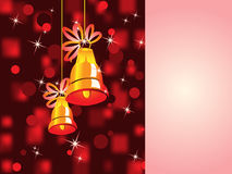 Christmas background. For your greeting text Stock Photography