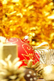 Christmas background. With Royalty Free Stock Photos