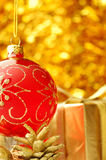 Christmas background. With Royalty Free Stock Photo