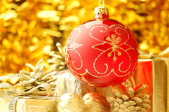 Christmas background. With Royalty Free Stock Image