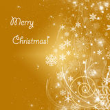 Christmas Background. A lot of space for text Royalty Free Stock Images