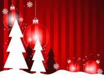 Christmas background. Detailed winter theme greeting card Stock Photos