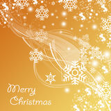 Christmas Background. A lot of space for text Royalty Free Stock Photos