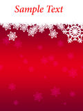 Christmas Background. For winter holiday Stock Photo
