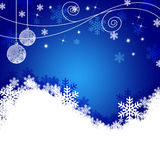Christmas Background. For the Holiday Royalty Free Stock Image