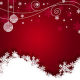 Christmas Background. For winter holiday Royalty Free Stock Photos