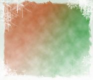 Christmas background. Snowflake and winter Christmas background Royalty Free Stock Images