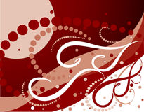 Christmas background. In red color Stock Photo