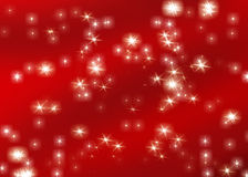 Christmas Background. Sparkling red christmas background illustration Royalty Free Stock Photos