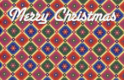 Christmas background. Colorful background with Christmas motive Stock Photography