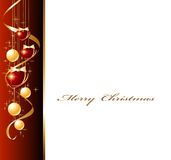 Christmas background. With the place for your text Royalty Free Stock Images