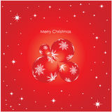 Christmas background. Special red Merry Christmas background Stock Image