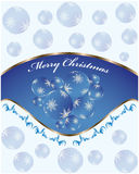 Christmas background. Special Christmas background with vintage design Stock Photos
