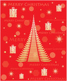 Christmas background. Special red Merry Christmas background Royalty Free Stock Images