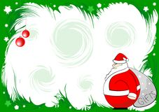 Christmas background 2008. New year Stock Images