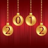 Christmas Background 2012 Stock Image