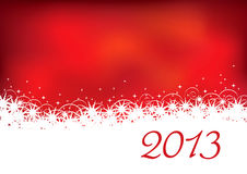 Christmas background 2013 Royalty Free Stock Images