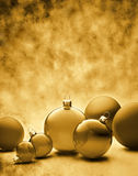 Christmas Ornaments Background Royalty Free Stock Photo