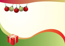 Christmas background. A vector illustration of background with Christmas motives Royalty Free Stock Photos