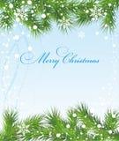 Christmas background. Fir christmas new year holiday celebration stock illustration