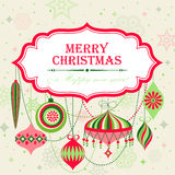 Christmas background. With place for text. Vector illustration stock illustration